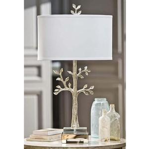 Modern Silver Tree Lamp