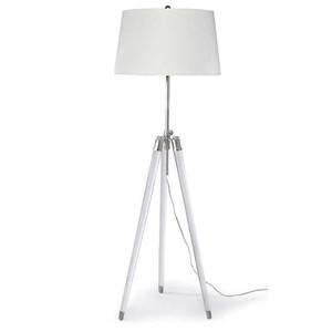Brigitte Floor Lamp in Nickel