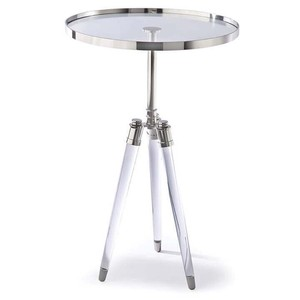 Brigitte Table in Nickel