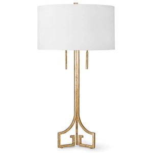 Le Chic Gold Table Lamp | Regina Andrew