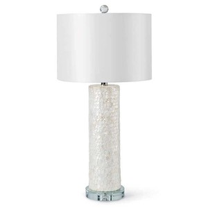 Scalloped Capiz Column Lamp | Regina Andrew