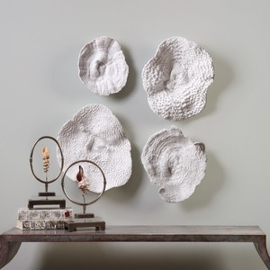 Sea Coral Wall Decor - Set of Four | The Uttermost Company