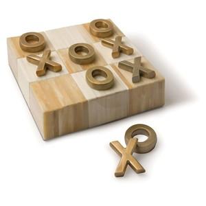 Brass Flat Tic Tac Toe | Regina Andrew