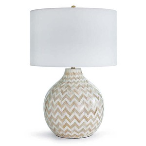 Chevron Bone Lamp | Regina Andrew