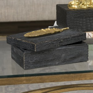 Gold Leaf Box | The Uttermost Company