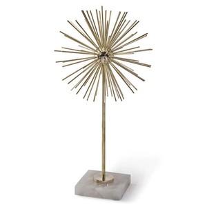 Tall Brass Spike Sculpture | Regina Andrew