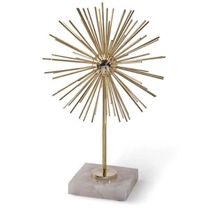 Short Brass Spike Sculpture