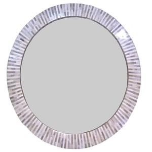 Multitone Bone Mirror | Regina Andrew