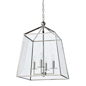 Metal and Glass Lantern | Regina Andrew