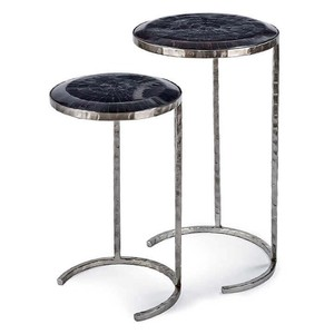 Horn Veneer Nesting Tables | Regina Andrew
