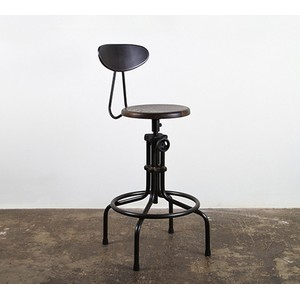 Counter Stool with Backrest