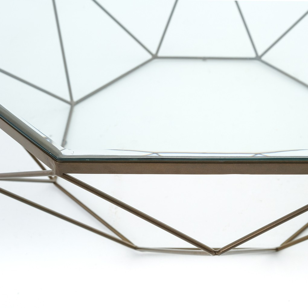 Geometric Coffee Table | Four Hands