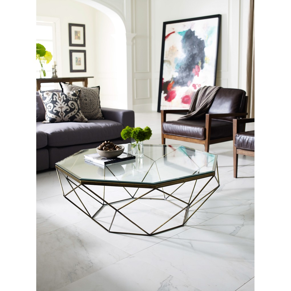 Geometric Coffee Table | Four Hands