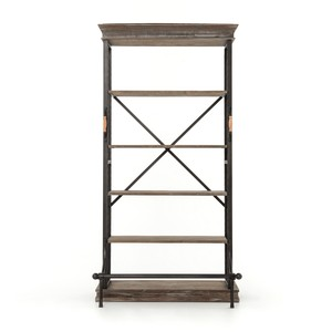 Braxton Single Bookcase | Four Hands