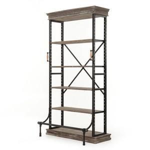 Braxton Single Bookcase
