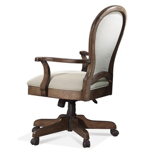 Belmeade Round Back Upholstered Desk Chair | Riverside