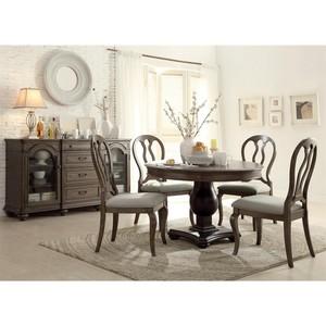 Queen Ann Upholstered Side Chair