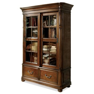 BRISTOL COURT SLIDING DOOR BOOKCASE | Riverside