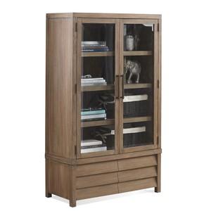 Mirabelle Cabinet Bookcase | Riverside
