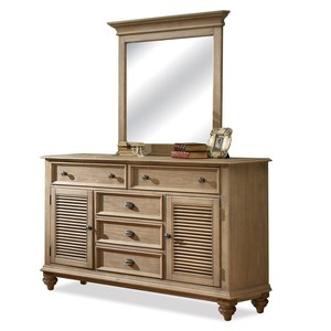 Panel Door Dresser | Riverside
