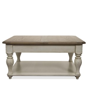Lift Top Square Coffee Table