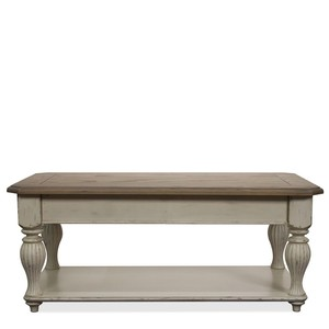 Lift Top Rectangular Coffee Table