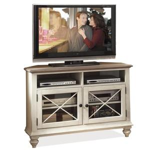 Corner TV Console | Riverside