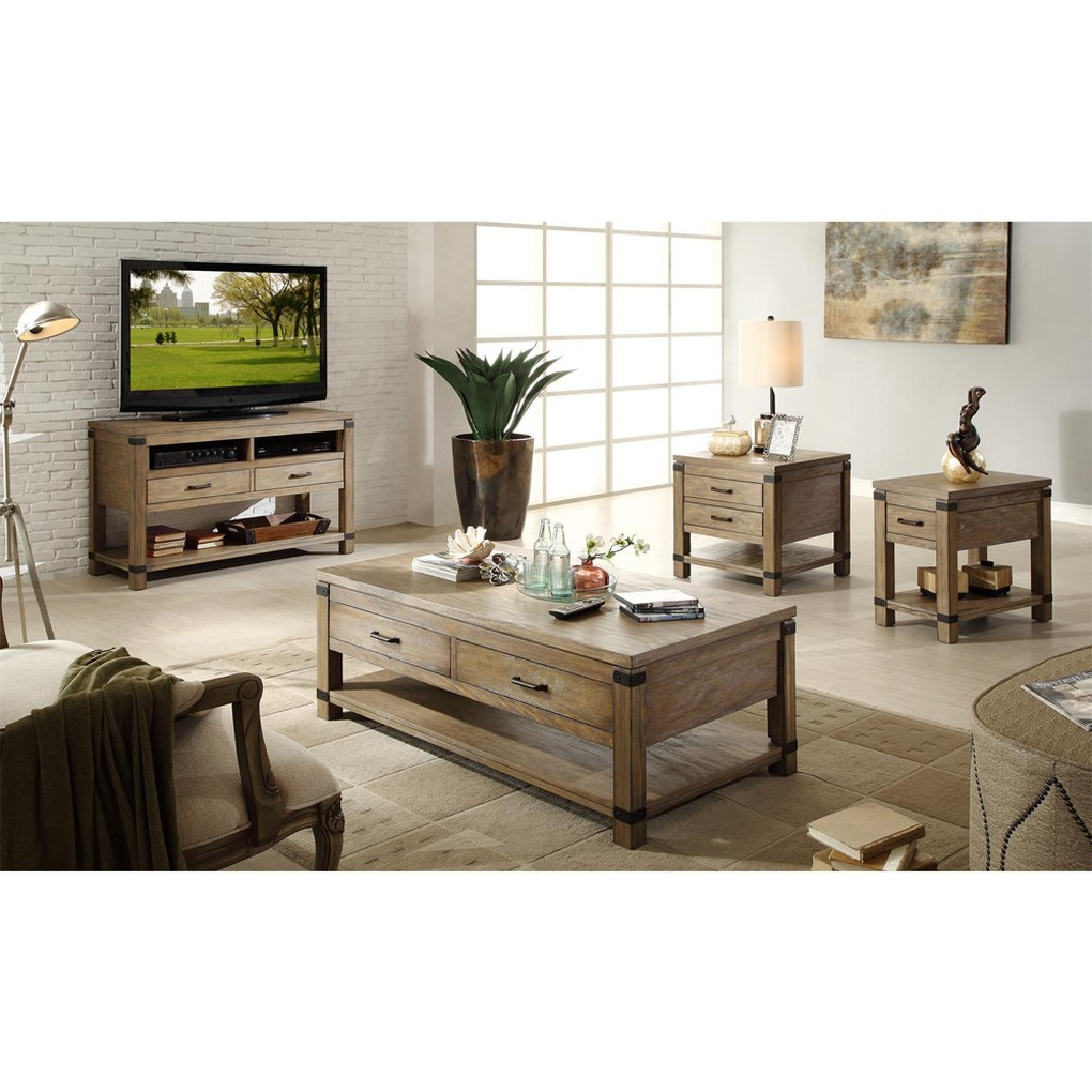 Rectangular Side Table | Riverside