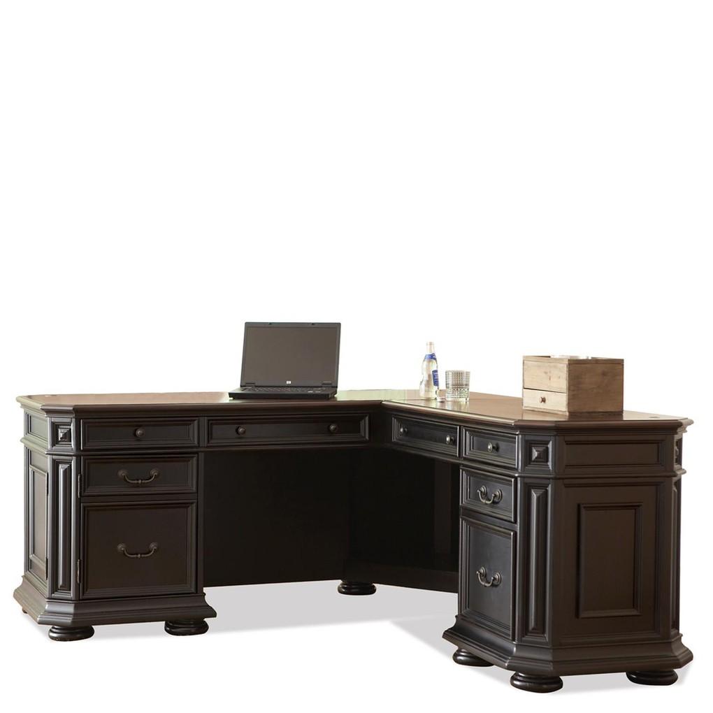 L Desk and Return | Riverside