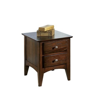 Metro Ii 2 Drawer Side Table | Riverside