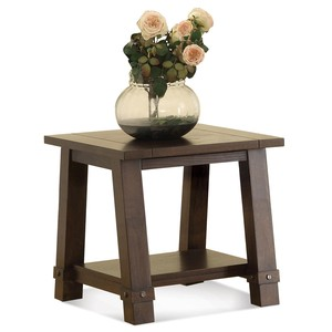 Angled Leg Side Table | Riverside