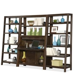 Promenade Canted Bookcase   Riverside