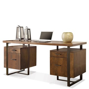 Terra Vista Double Pedestal Desk