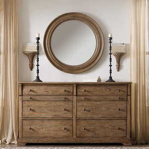 Round Accent Mirror | Riverside