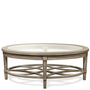 Parkdale Oval Coffee Table | Riverside