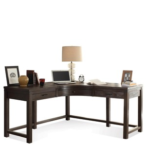 Promenade Curved Corner Desk | Riverside