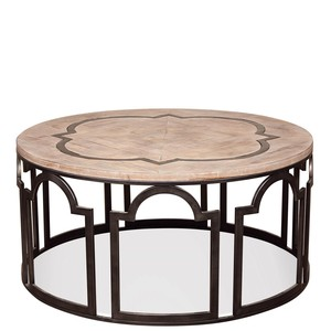 ESTELLE ROUND COFFEE TABLE | Riverside