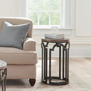 Estelle Round Chairside Table | Riverside
