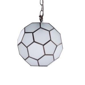 "Small Frosted 9"" Knox Pendant 