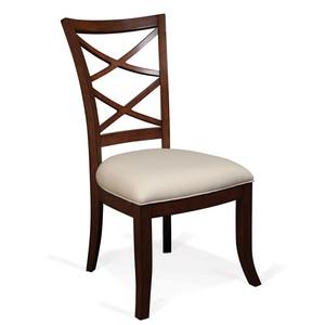 WINDWARD BAY XX-BACK UPHOLSTERED SEAT SIDE CHAIR | Riverside