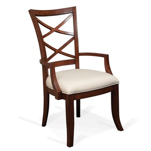 XX-Back Upholstered Seat Arm Chair | Riverside