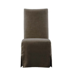 Brown Flandia Slip Covered Chair