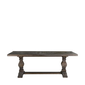 "Grey 84"" New Trestle Table"
