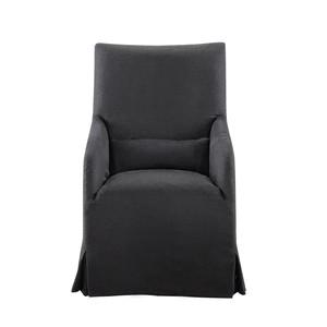 Flandia Black Armchair