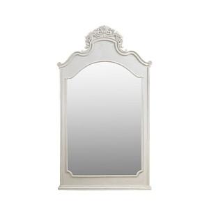 Vintage White Istres Mirror