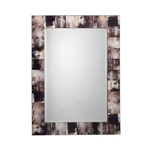 Grey Faux Horn Mirror | Jamie Young