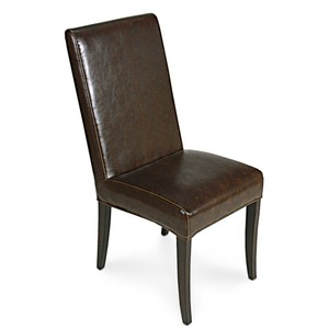 Brown Milano Side Chair | Sarreid