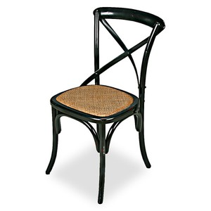Tuileries Gardens Chair Black | Sarreid