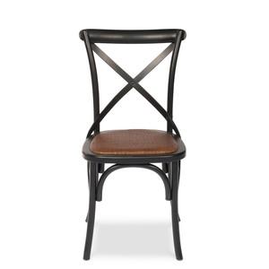Tuileries Gardens Chair Black | Sarreid
