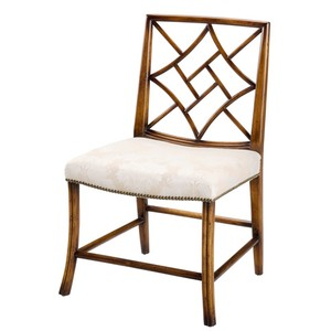 Lady Zetland's Sidechair Cream | Sarreid